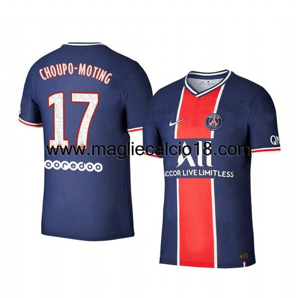 Prima divisa maglia paris saint germain Eric-maxim Choupo 2020-2021