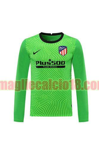 maglia atletico madrid 2020-2021 portiere verde manica lunga