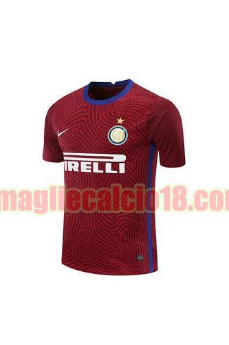 maglia inter milan 2020-2021 portiere rosso