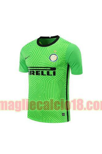 maglia inter milan 2020-2021 portiere verde