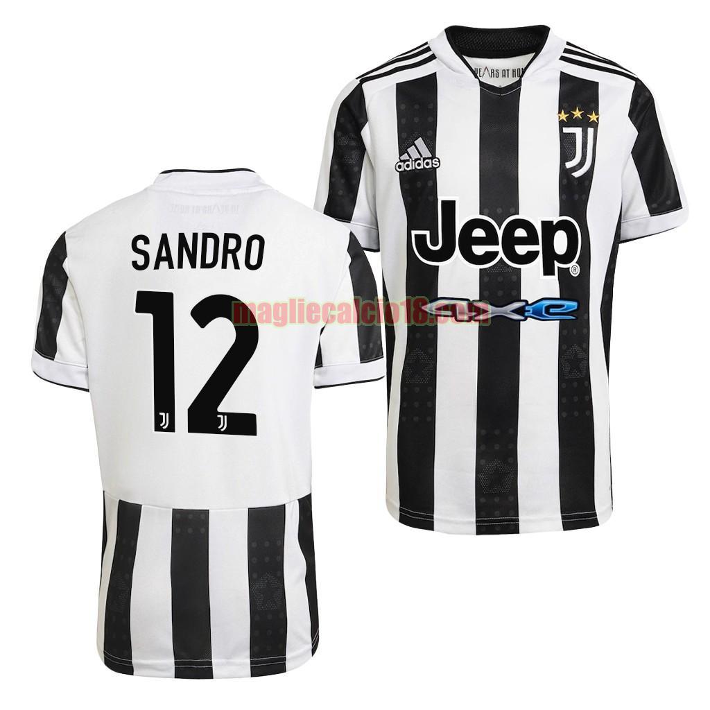 maglia juventus 2021-2022 prima alex sandro 12