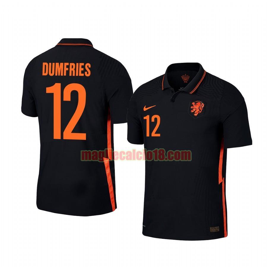 maglia olanda 2020-2021 seconda denzel dumfries 12