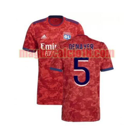 maglia olympique lione 2021-2022 seconda denayer 5