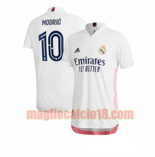 maglia real madrid 2020-2021 prima luka modric 10