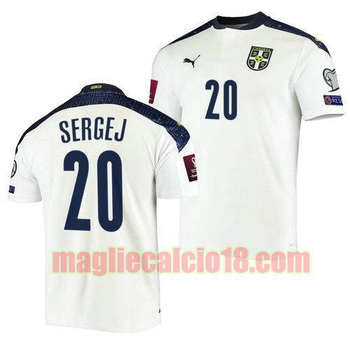 maglia serbia 2022 seconda sergej milinkovic savic 20
