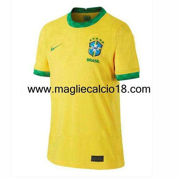prima divisa maglia nazionale brasile 2020-2021