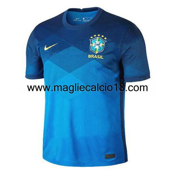 seconda divisa maglia nazionale brasile 2020-2021