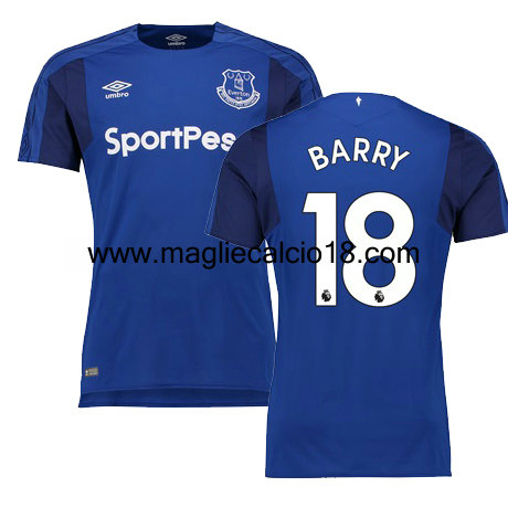 maglie Everton Barry prima divisa 2017-2018