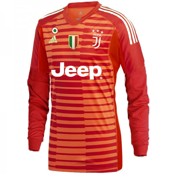 portiere arancione divisa maglia Juventus mancia lunga 2019-2020