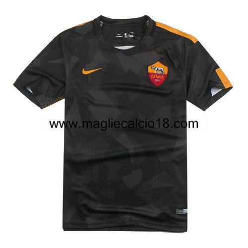 terza divisa maglia as roma 2017-2018