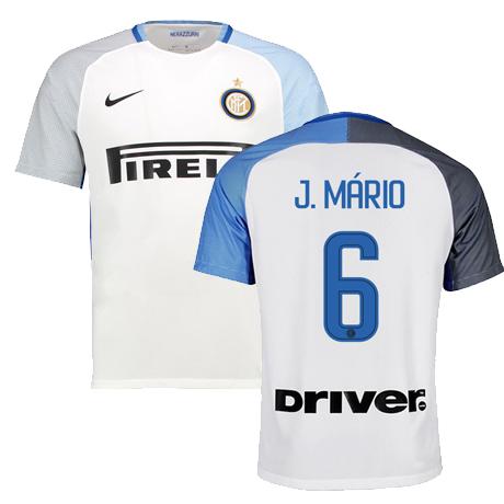seconda divisa maglia inter milan Joao Mario 2017-2018