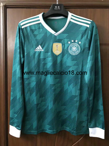 maglie mancia lunga Germania seconda divisa 2018-2018