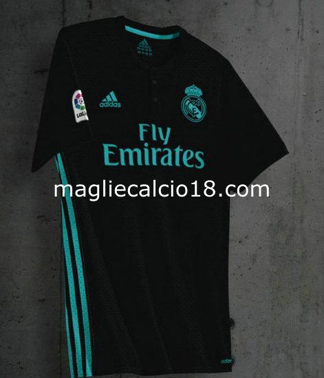 seconda divisa maglia real madrid 2017-2018