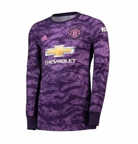 maglie mancia lunga Manchester United portiere divisa 2019-2020