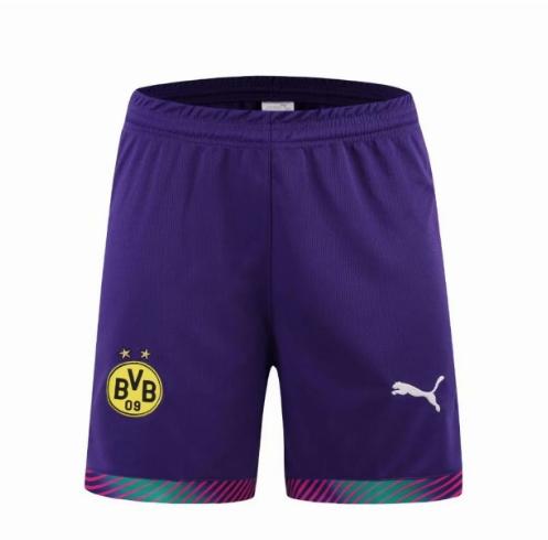 portiere porpora divisa pantaloncini Borussia Dortmund 2019-2020