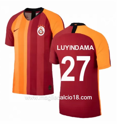 Prima divisa maglia Galatasaray Sk Luyindama 2019-2020