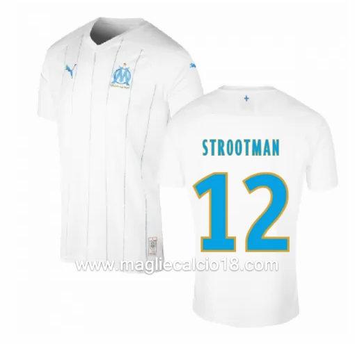 Prima divisa maglia olympique marsiglia STROOTMAN 2019-2020